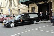 Brousek pohreb Vinohradske divadlo