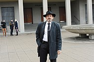 Brousek pohreb strasnice Gondik manzelka Stedry Mouckova