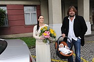 Pomeje Jiri Andrea Anna odchod z porodnice Podoli